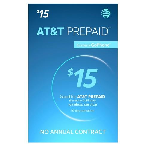 at&t login prepaid