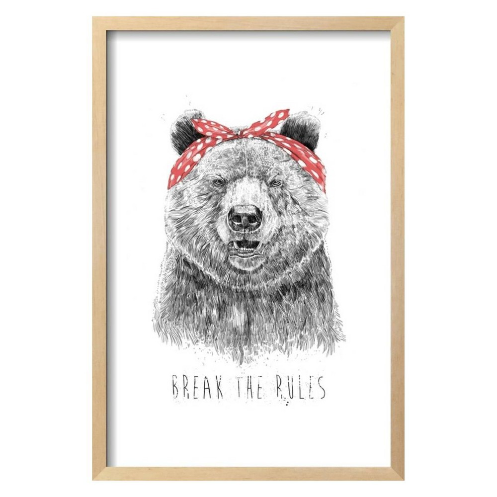Break The Rules By Balazs Solti Framed Wall Art Poster Print 17