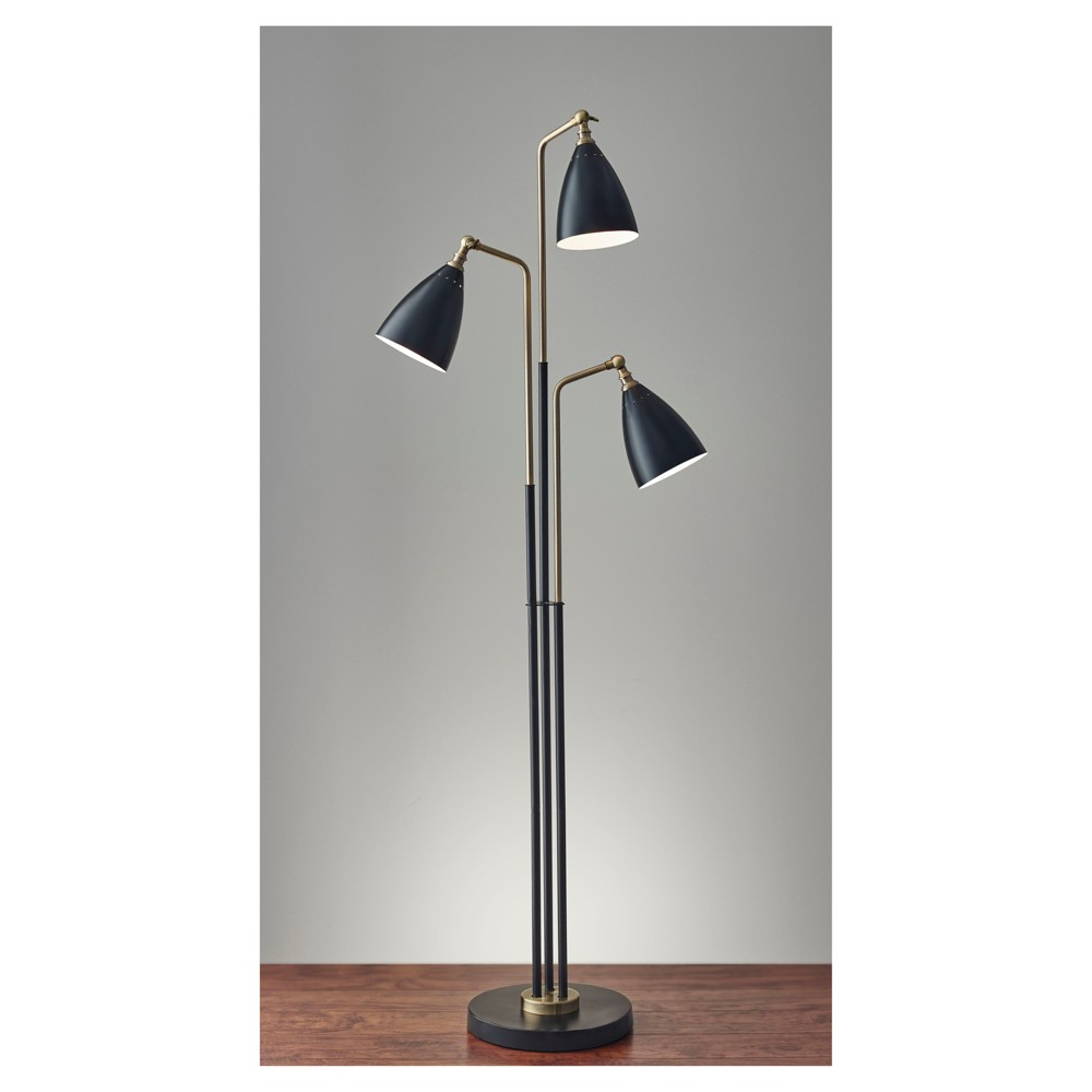 Image of Adesso Chelsea Tree Lamp - Black