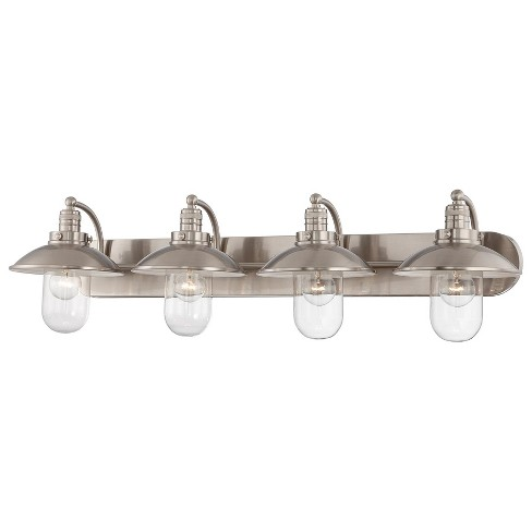 Minka Lavery 5134 4 Light Bathroom Vanity Light from the Downtown Edison Collection - image 1 of 1