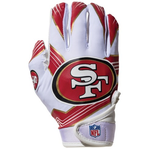San Francisco 49ers Kids  Receiver Gloves - M   Target 995e0e432