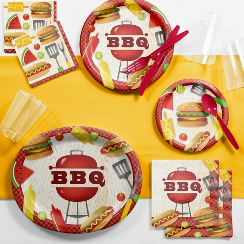 BBQ Time Deluxe Party Supplies Kit - image 1 of 1