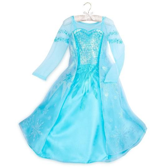 Disney Frozen Elsa Kids' Dress - Size 4 - Disney store, Girl's, Blue image number null