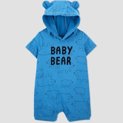 Baby Boys' Baby Bear Romper - Just One You® made by carter's Blue Newborn
