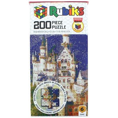 Rubik's Neuschwanstein Castle 200 Piece Jigsaw Puzzle