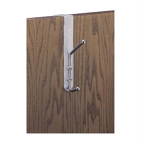 Steel Over-The-Door Wall Coat Rack Hook (Set of 12) in Brown-Safco - image 1 of 1