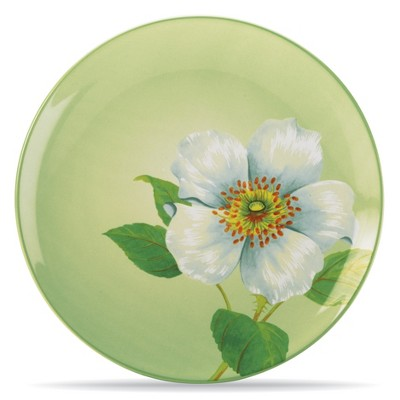 Noritake Colorwave Apple Climbing Rose Floral Accent Plate