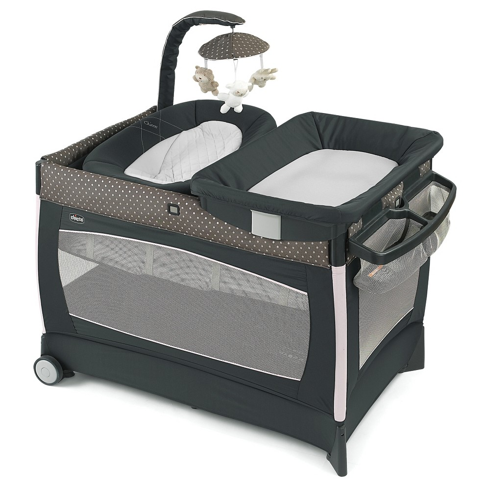 Image of Chicco Lullaby Baby Playard - Lilla