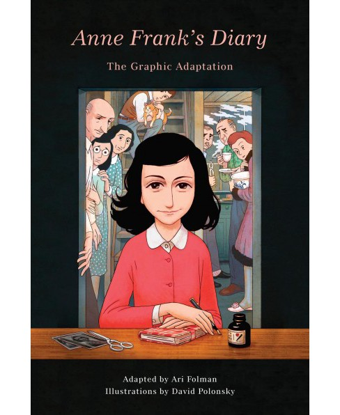 Anne Frank's Diary : The Graphic Adaptation -  (Hardcover) - image 1 of 1