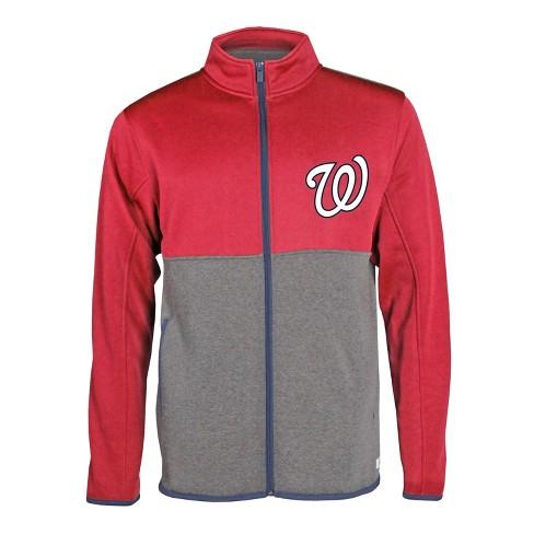 Mlb Washington Nationals Men S Bases Loaded Track Jacket