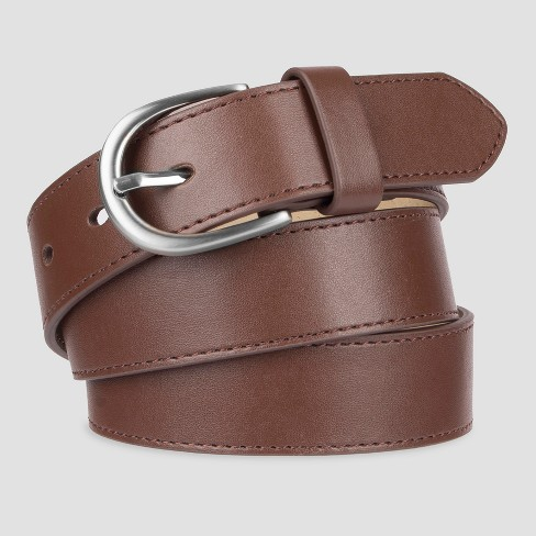 6e240ca68900 Women's Faux Leather Belt - A New Day™ : Target
