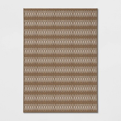 5' x 7' Global Outdoor Rug Natural - Project 62™