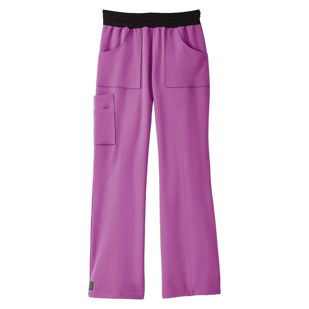 Female Scrub Pants Ave M Purple