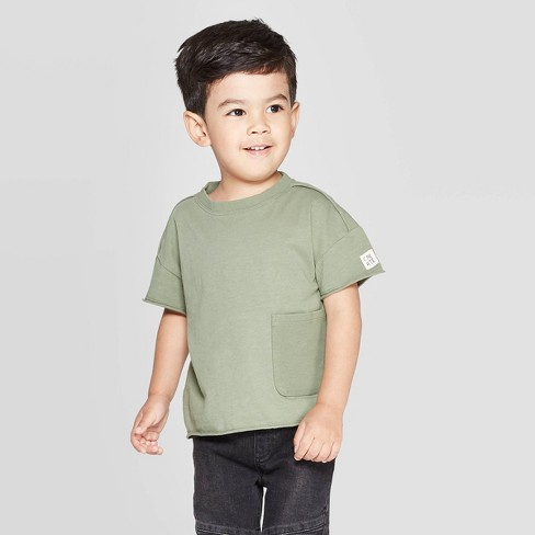 Toddler Boys' Short Sleeve Henley T-shirt - art class™ - image 1 of 3