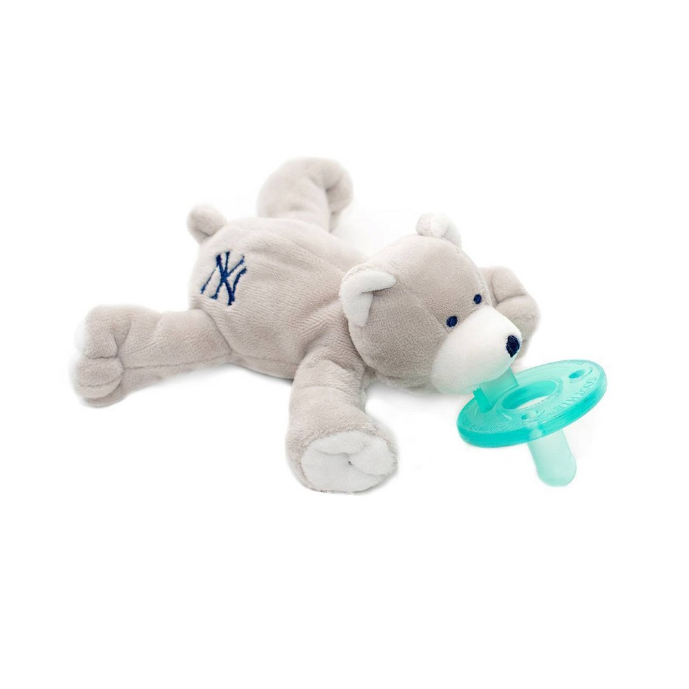 Image of WubbaNub Pacifier - Yankee Logo Bear