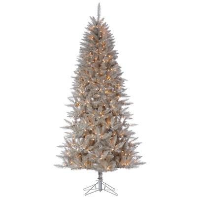 Vickerman Platinum Fir Artificial Christmas Tree
