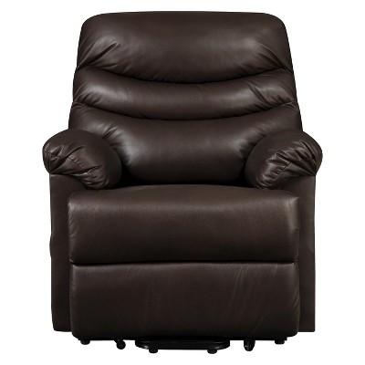 Wall Hugger Convert-a-Couch Renu Leather Power Lift Recliner Chair - ProLounger  sc 1 st  Target & Wall Hugger Convert-a-Couch Renu Leather Power Lift Recliner Chair ...