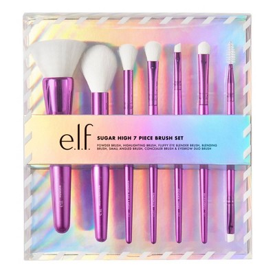 e.l.f. Holiday Sugar High Brush Gift Set - 7pc