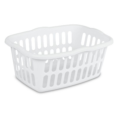 1.5 Bushel Rectangular Laundry Basket White - Room Essentials™