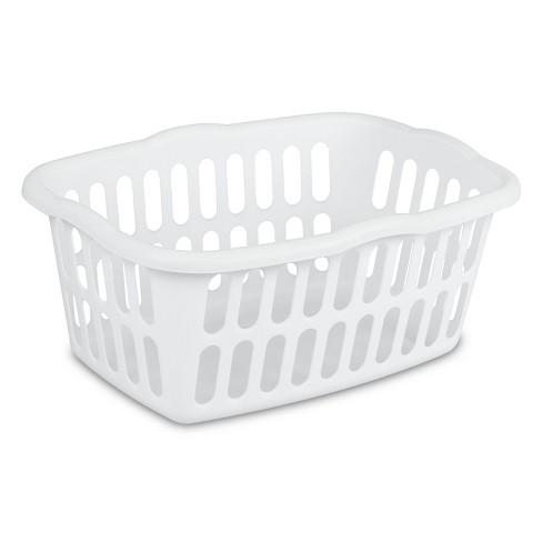 1.5 Bushel Rectangular Laundry Basket White - Room Essentials™ - image 1 of 4