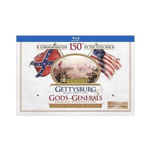 Gods & Generals / Gettysburg (Blu-ray) - image 1 of 1