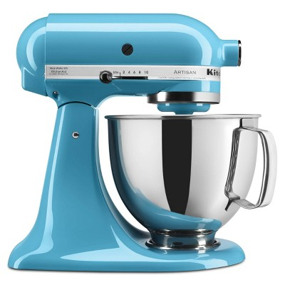 KitchenAid Artisan Series 5 Quart Tilt-Head Stand Mixer- Ksm150 Light Blue