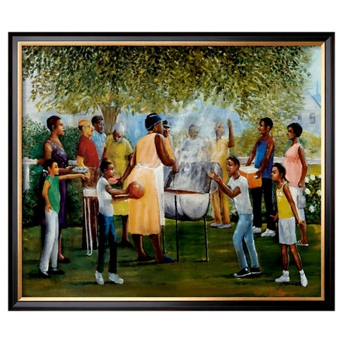 Art.com - Family Reunion by Laverne Ross - Framed Print - image 1 of 2