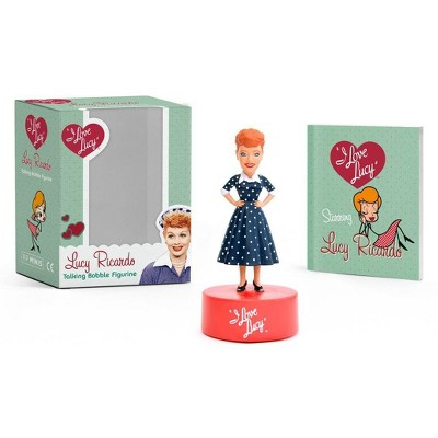 I Love Lucy: Lucy Ricardo Talking Bobble Figurine - (Rp Minis) by  Elisabeth Edwards (Paperback)