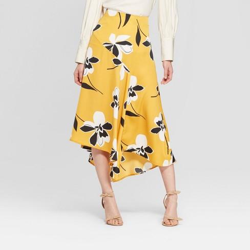 Women's Seamed Midi Slip Skirt - Who What Wear™ - image 1 of 3