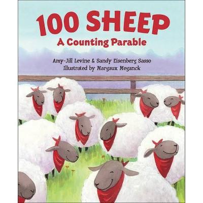 100 Sheep - by  Amy-Jill Levine & Sandy Eisenberg Sasso (Board Book)