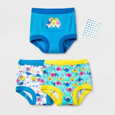 Toddler 3pk Baby Shark Training Pant Briefs