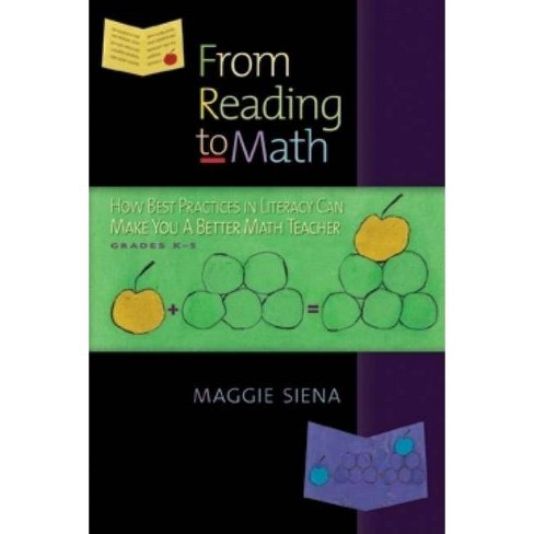 From Reading to Math - by  Maggie Siena (Paperback) - image 1 of 1