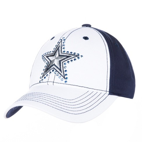 NFL Women's Dallas Cowboys White North Star Hat - image 1 of 1