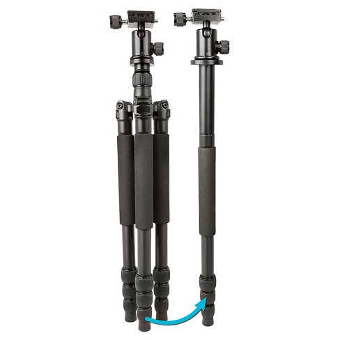 Bower Duo Flex 2-In-1 Professional Tripod and Monopod - Black (VT6000) - image 1 of 1