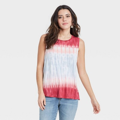 Women's Tie-Dye Tank Top - Knox Rose™