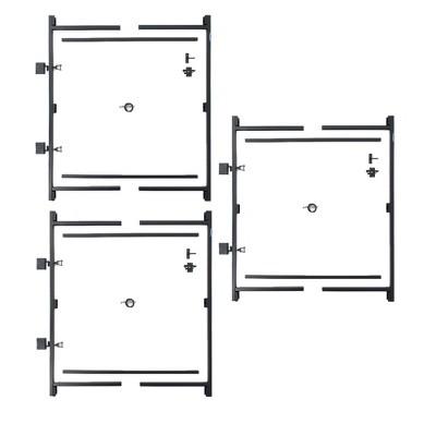 Adjust-A-Gate Steel Frame Gate Kit (2 Pack) & Adjust-A-Gate Steel Frame Gate Kit