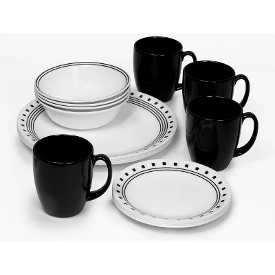 Corelle Livingware 16pc Dinnerware Set City Block