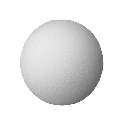 FloraCraft Styrofoam Ball, 4 Inches, White, pk of 12