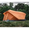 Gazelle T4 Plus Extra Large 4 to 8 Person Portable Pop Up Outdoor Shelter Camping Hub Tent with Extended Screened In Sun Room, Orange - image 2 of 4