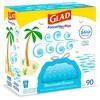 Glad ForceFlexPlus + Tall Kitchen Drawstring Trash Bags - Febreze Beachside Breeze - 13 Gallon - 90ct - image 2 of 4