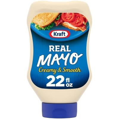 Kraft Real Mayonnaise Squeeze Bottle - 22 fl oz