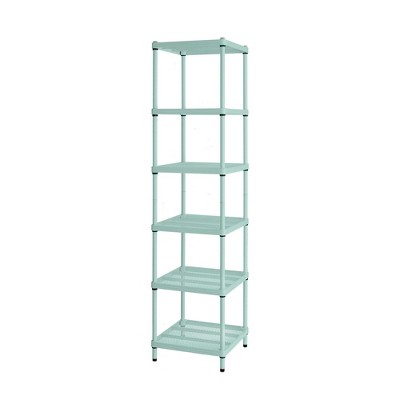 "Design Ideas Meshworks Steel Storage Shelving Unit – Narrow Unit 17.7"" x 17.7"" x 70.9"""