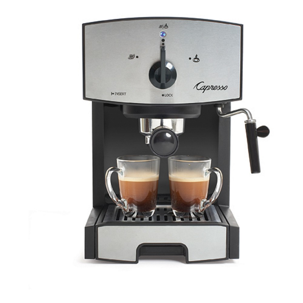 Image of Capresso Espresso & Cappuccino Machine Stainless Steel EC50