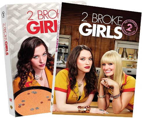 2 Broke Girls:Seasons 1-2 (DVD) - image 1 of 1