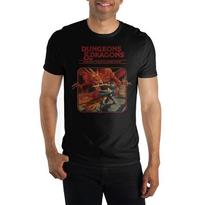 Dungeons and Dragons Black Short-Sleeve T-Shirt