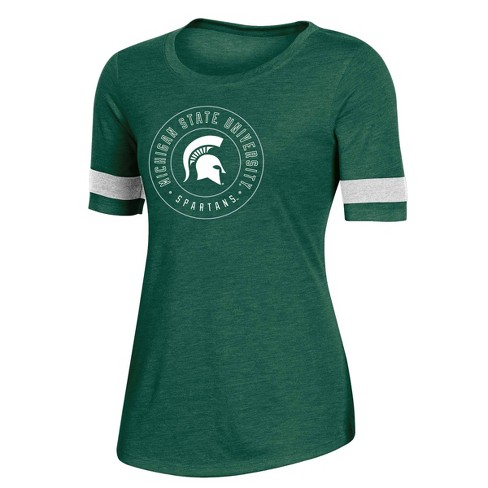 NCAA Michigan State Spartans Women's Short Sleeve Crew Neck T-Shirt - image 1 of 2