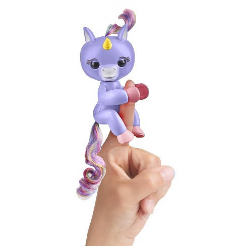 Fingerlings Interactive Unicorn - Light Purple - Alika - image 1 of 6