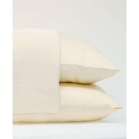 King 2pk 100% Rayon from Bamboo Pillowcase Set Ivory - Cariloha - image 1 of 1