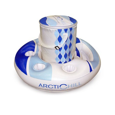 """Swim Central 30"""" Arctic Chill Inflatable Swimming Pool Refreshment Float"""