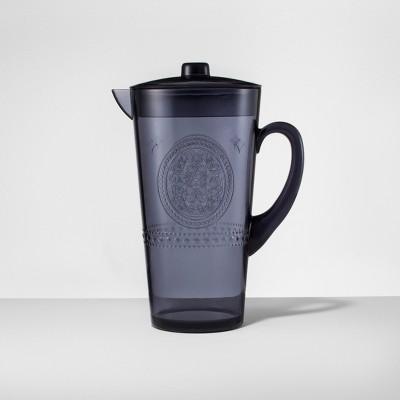Plastic Beverage Pitcher 66oz Blue - Opalhouse™